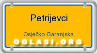 Petrijevci tabla